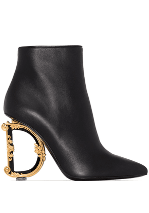 Dolce & Gabbana DG 105mm ankle boots - Black