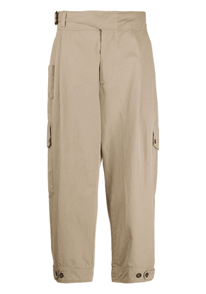 Dolce & Gabbana cropped chino trousers - NEUTRALS