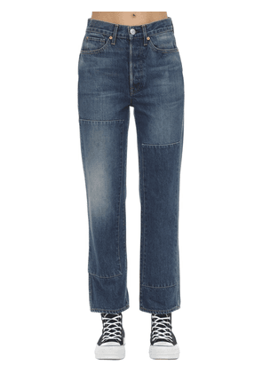 Claudia Denim Straight Jeans