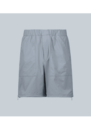 Exclusive to Mytheresa – technical fabric shorts with zips