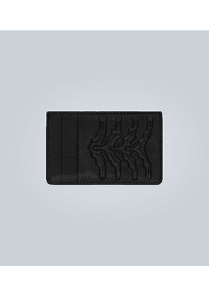 Rib Cage leather cardholder