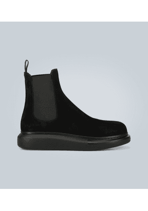 Oversized ankle boots
