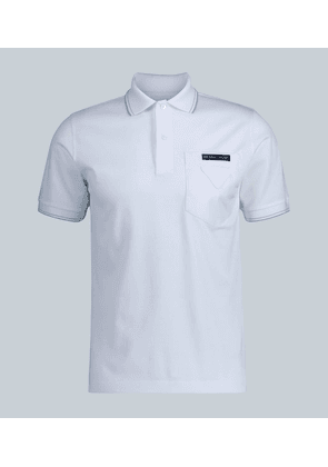 Contrast pocket polo shirt