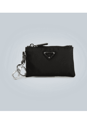 Zipped pouch and key ring