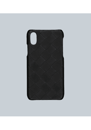 Leather iPhone XS cover