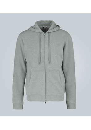 Cotton-jersey hooded sweatshirt