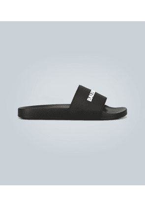 Rubber pool slides with logo
