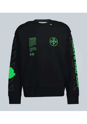 Abstract logo sweatshirt