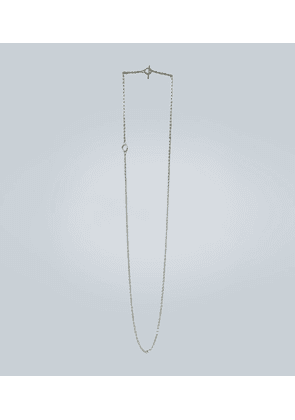 String sterling silver necklace