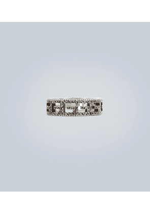 Sterling silver Square G ring