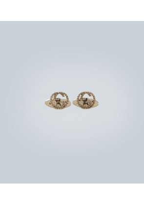 18 carat gold GG cufflinks