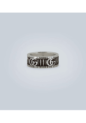 Sterling silver GG ring