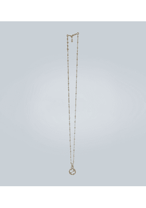 18 carat gold GG necklace