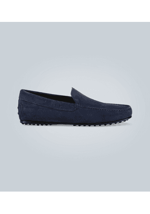 Gommino suede City driving shoes