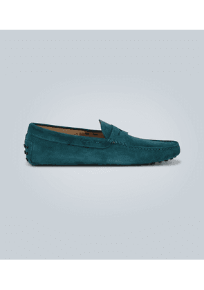 Gommino suede driving shoes