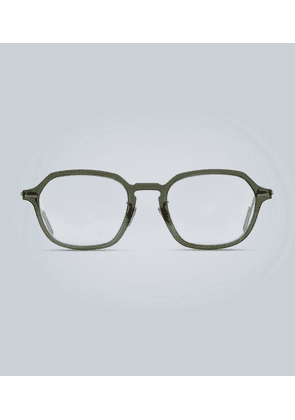 Disappear square-frame glasses