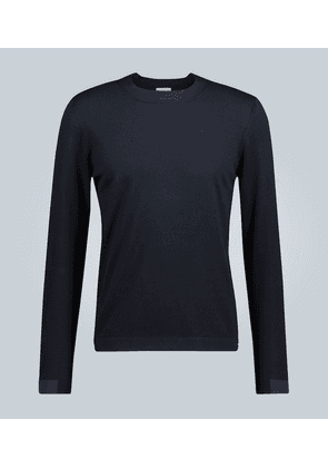 Crewneck knitted sweater