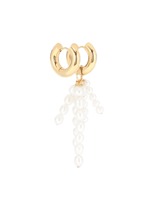 Exclusive to Mytheresa – Mismatched gold-plated earrings