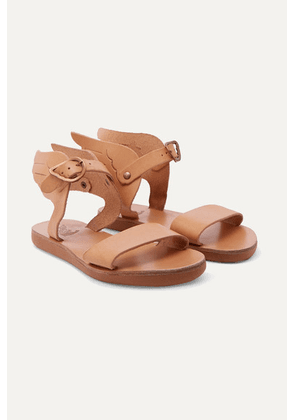 Ancient Greek Sandals Kids - Little Ikaria Leather Sandals - Beige