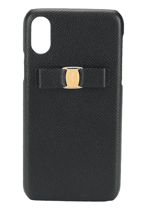 Salvatore Ferragamo iPhone XS Vara bow case - Black