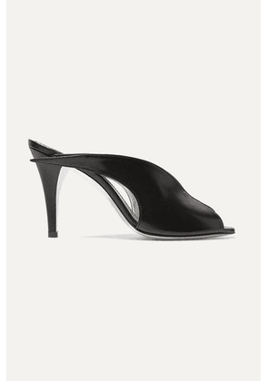 Givenchy - Leather Mules - Black
