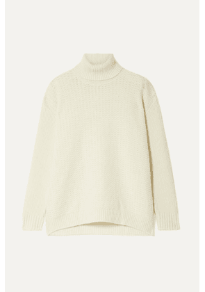 Marni - Wool And Cashmere-blend Turtleneck Sweater - Cream