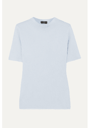 J.Crew - Ribbed-knit Top - Blue