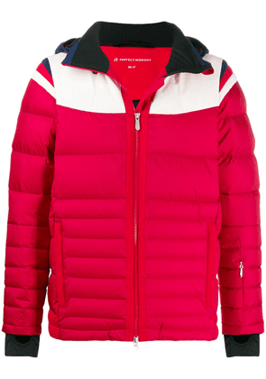 Perfect Moment Glacier padded jacket - Red