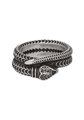 Gucci Silver Snake Ring