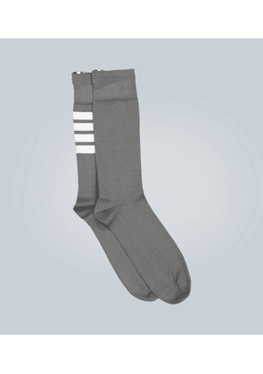 Cotton mid-calf socks