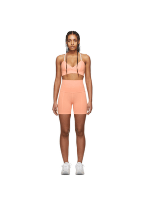 Live the Process Pink Geometric Shorts