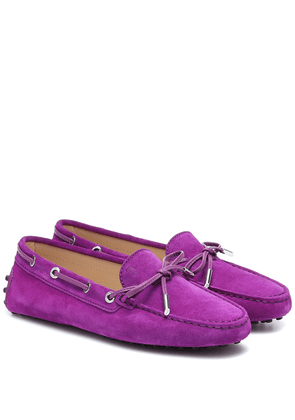 Heaven suede loafers