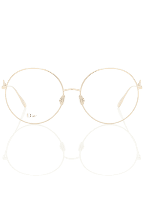 DiorSignature02 round glasses