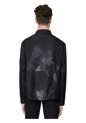 Embroidered Tech Jacket