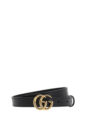 2cm Gg Marmont Shiny Leather Belt