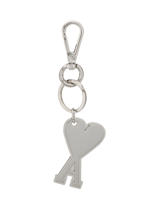 Ami Paris Ami de Coeur key ring - Metallic