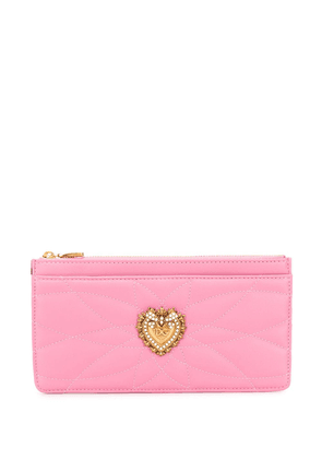 Dolce & Gabbana Devotion wallet - PINK