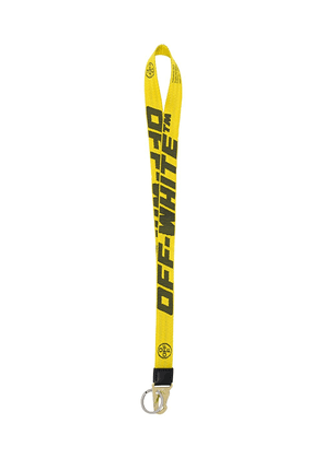 Off-White 2.0 industrial lanyard - Yellow