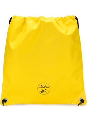 A.P.C. Guitare Poignard Swim shoulder bag - Yellow