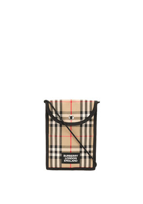 Burberry Classic Check crossbody bag - NEUTRALS