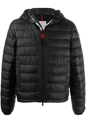 Moncler hooded feather-down jacket - Black