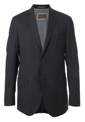 Corneliani long sleeve water-repellent blazer - Blue