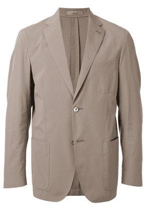 Corneliani single breasted jacket - NEUTRALS