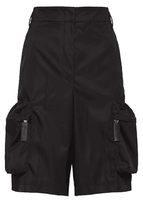 Prada technical fabric bermuda shorts - Black