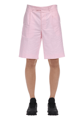 Oxford Cotton Shorts