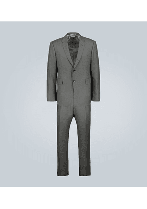 Classic wool twill suit