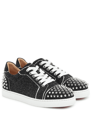 Vieira 2 embellished leather sneakers
