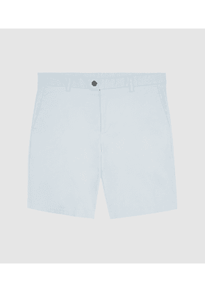 Reiss Wicket - Casual Chino Shorts in Soft Blue, Mens, Size 28