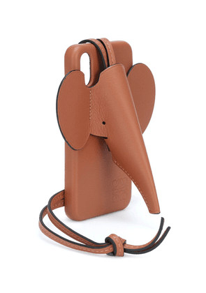 Elephant leather iPhone X/XS case