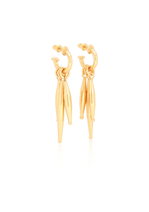 Lumia Maia 24kt yellow gold-plated earrings